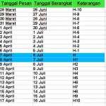 Booking Tiket KA Lebaran Online 2019