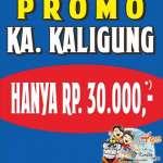 Promo Tiket KA Kaligung Semarang Tegal