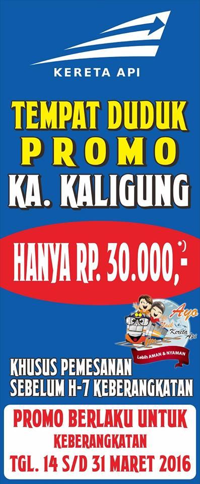 Tiket Promo KA Kaligung