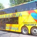 Rute Bus Tumpuk atau Bus Tingkat Surabaya Terbaru
