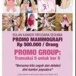 Promo Siloam Hospital Dalam Rangka Bulan Kanker Payudara Sedunia