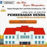 Info Pemutihan PBB Pajak Bumi Bangunan Kota Surabaya