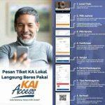 Cara Pesan Tiket KA Lokal Online di KAI Acces Terbaru