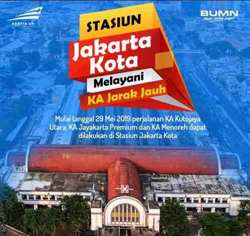 Jadwal Stasiun Jakarta Kota