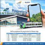Jadwal KA Bandara Yogyakarta Internasional Airport 2021