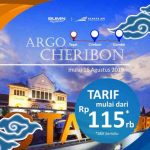 Harga Tiket dan Jadwal KA Argo Cheribon Terbaru 2021
