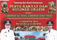 Pesta Rakyat dan Kuliner Gratis