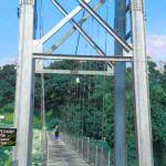 Wisata Murah Meriah Jembatan Gantung Slawe Mojokerto
