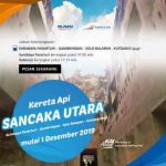 Harga Tiket dan Jadwal KA Sancaka Utara 2020