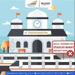 Per 1 Januari 2021 Stasiun Tidak Ada Loket Lagi