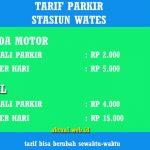 Tarif Parkir Stasiun Wates