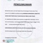 Bus Harapan Jaya Tidak Beroperasi 1-8 Juni 2020