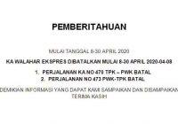 KA Lokal Purwkarta Batal Jalan