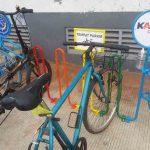 Fasilitas Parkir Sepeda di Stasiun Jabodetabek
