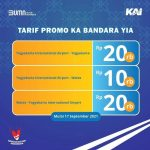 Kini KA Bandara Yogyakarta Bisa Langsung ke Stasiun Bandara YIA
