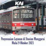 Peron Stasiun Manggarai Terbaru Untuk Transit KRL